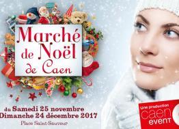 Week-end à Caen : découvrez le marché de Noël 2017