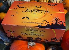 Près  de Caen, la biscuiterie Jeannette habille ses madeleines pour Halloween