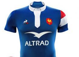 Avec le nouveau maillot du XV de France, Le Coq Sportif habille les Bleus jusqu'en 2024