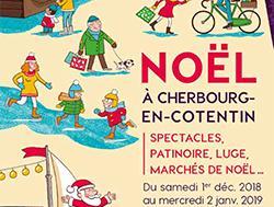Du 1 er décembre au 2 janvier, la ville de Cherbourg donne des couleurs à Noël