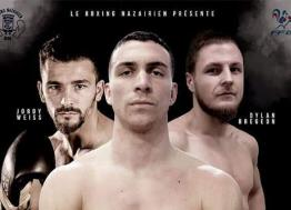 Le Boxing Nazairien organise son gala le 8 février à la Soucoupe de Saint-Nazaire