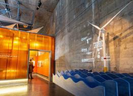 Le centre éolien EOL a ouvert  ses portes le 9 février à Saint-Nazaire