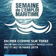 Du 11 au 16 mars 2019, la Semaine Maritime de Pôle Emploi ouvre ses portes sur les métiers de la mer à Cherbourg