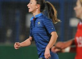 The footballer Gaëtane Thiney, native of Troyes, prepares for the Women's World Cup from June 7 to July 7, 2019