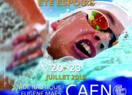 Du 19 au 23 juillet, la ville de Caen accueille le championnat de France Espoirs de natation