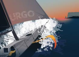 The 2019 edition of the Le Figaro Solitaire Urgo will leave on June 2, 2019 from Nantes