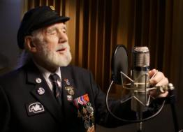 "World War II veteran Jim Radford makes a buzz on the Amazon platform with his folk ballad ""The Shores of Normandy"""