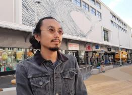 Avec son opération « tagguer la ville », Saint-Nazaire invite les street artistes DALeast et David de la Mano