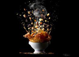 Novembre Gourmand expose les photos culinaires de Patrick Rougereau à l'Hôtel de Ville de Caen