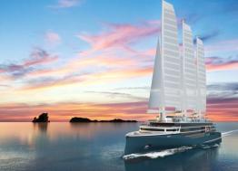 La voile du futur s'invente sur les chantiers de l'Atlantique de Saint-Nazaire