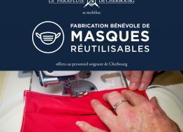 Le Parapluie de Cherbourg prête main forte aux soignants contre le Covid 19 avec des kits de couture