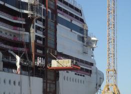 Covid 19 : avec une reprise partielle le 27 avril, la direction des Chantiers de l'Atlantique de Saint-Nazaire annonce la reprise globale de l'activité le lundi 11 mai 2020