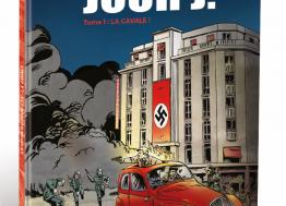 Caen en  BD : « L'Espion du Jour J » rend hommage aux pages sombres de l'Occupation allemande en Normandie