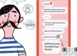 ArtyBot propose le premier parcours culturel et amoureux à la française à Troyes