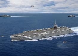 Saint-Nazaire :  Naval Group est sur le pont pour la construction d'un nouveau porte-avions à propulsion nucléaire