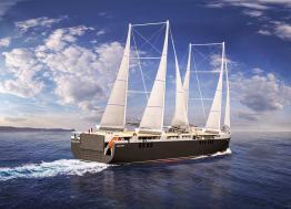 L'armateur nantais Neoline et le groupement d'industriels Neopolia signent un contrat pour fabriquer un cargo à voile à Saint-Nazaire