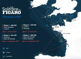 La solitaire du Figaro met le cap sur Lorient !