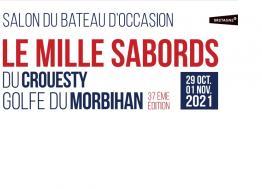 Le salon du bateau d'occasion « Mille Sabords » aura lieu du 29 octobre au 1er novembre 2021