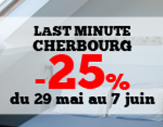 Last minute offer in Cherbourg: 25% discount on your spot from May 29th to June 7th