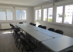 Lorient's Smartappart : meeting room
