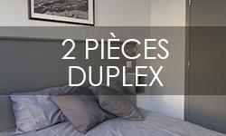2 pièces en duplex