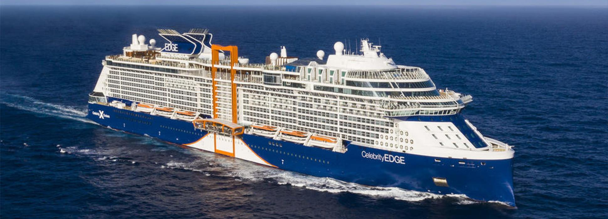 Celebrity Edge is the 2018 winner of the best new liner by the website Cruise Critic
