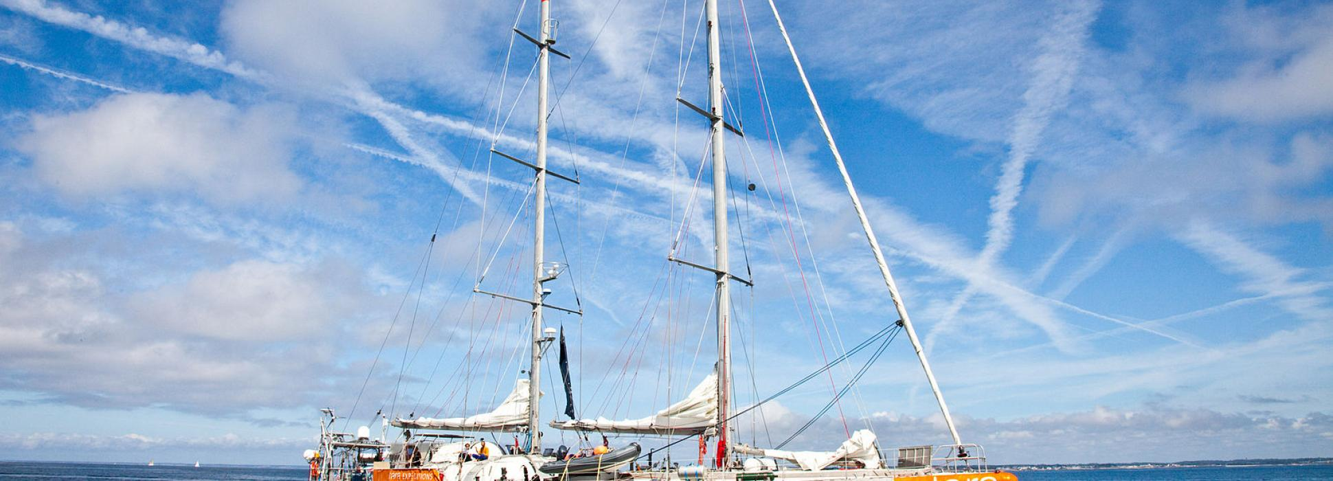 Morbihan: the scientific schooner Tara has left Lorient for a new Expedition