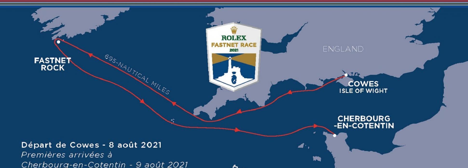 Affluence record des inscriptions pour la course Rolex Fastnet Race qui aura lieu du 8 au 15 août 2021