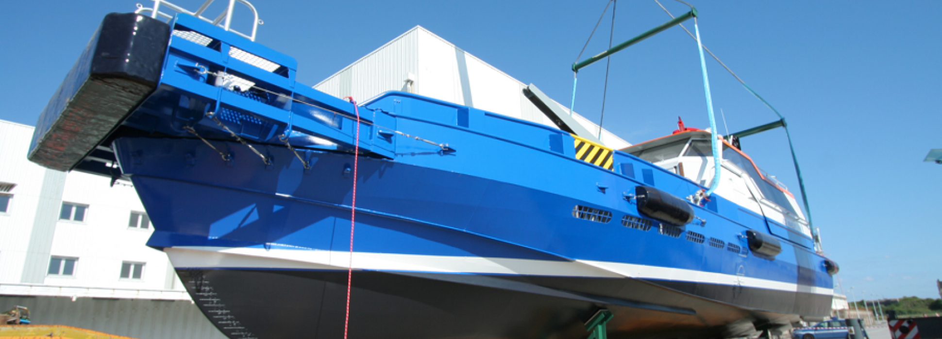 The Cherbourg shipyard Efinor Allais has received new orders from the Bourbon Group