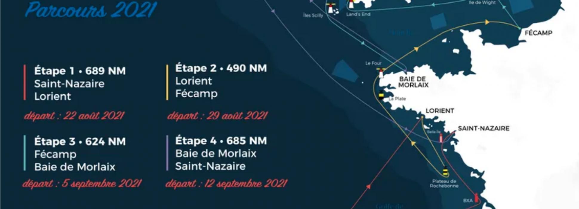 La 52ème édition de la Solitaire du Figaro commence et finit à Saint-Nazaire