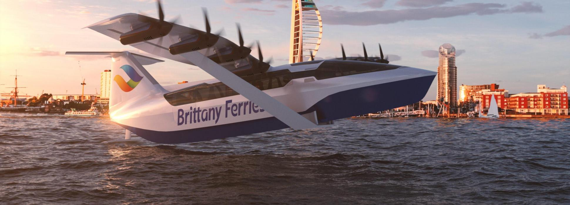 Brittany Ferries souhaite exploiter des bateaux volants à l'horizon 2025