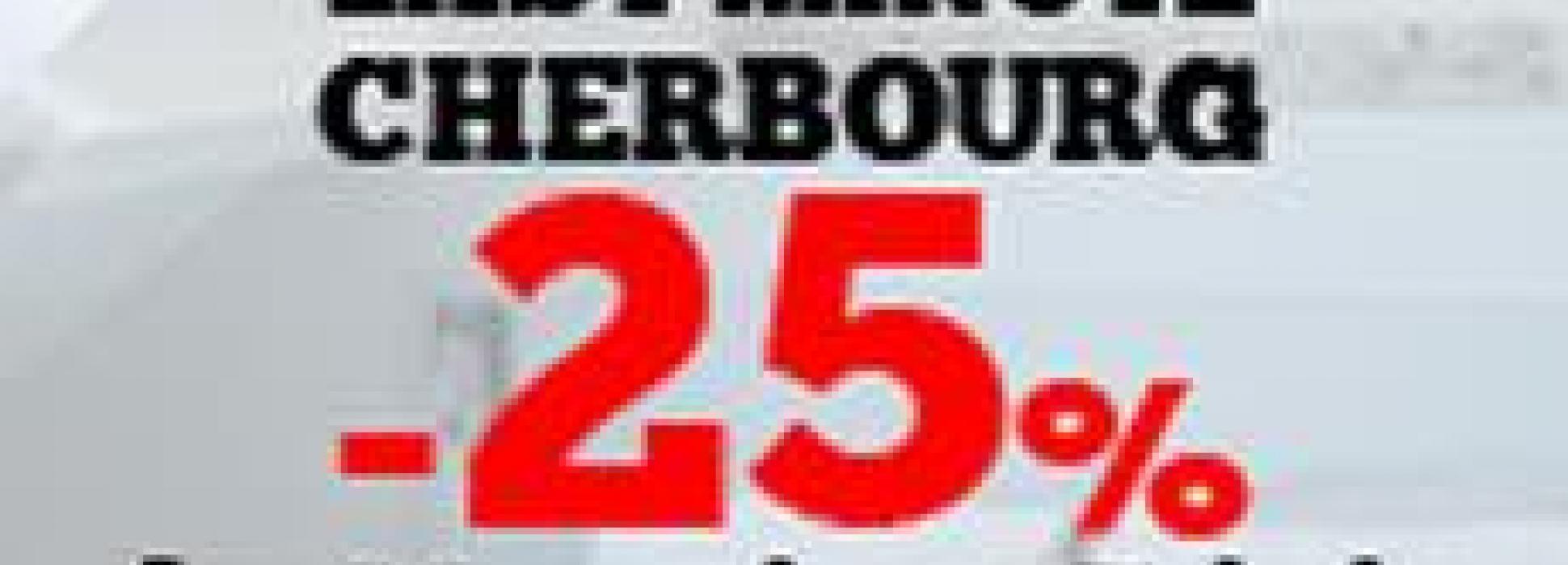 Offre Last Minute Cherbourg : - 25% pour votre séjour entre le 29 mai et 7 juin