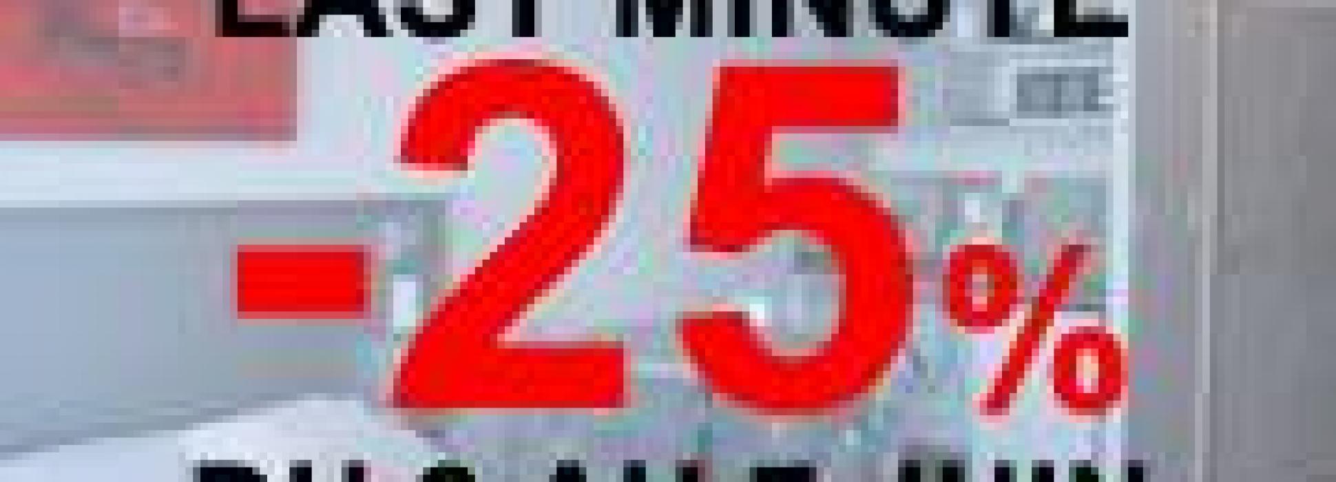 OFFRE LAST MINUTE : -25% pour votre séjour entre le 2 et 7 juin