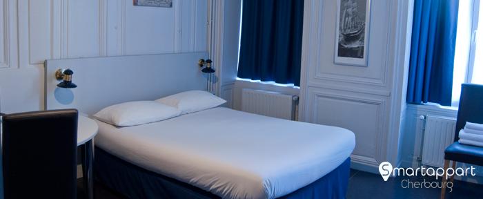 se loger pas cher cherbourg optez pour l 39 appart h tel smartappart. Black Bedroom Furniture Sets. Home Design Ideas